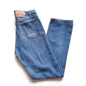 Vintage Levi's 505 Orange Tab Straight Jean 34×33
